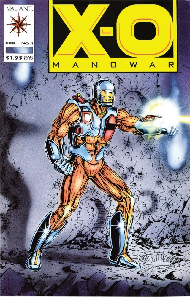 X-O Manowar #1 - Retribution Part 1: Into The Fire released by Valiant on February 1, 1992