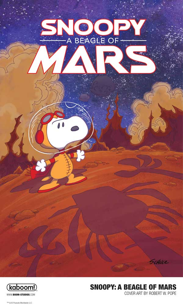 Snoopy: A Beagle of Mars from BOOM! Studios