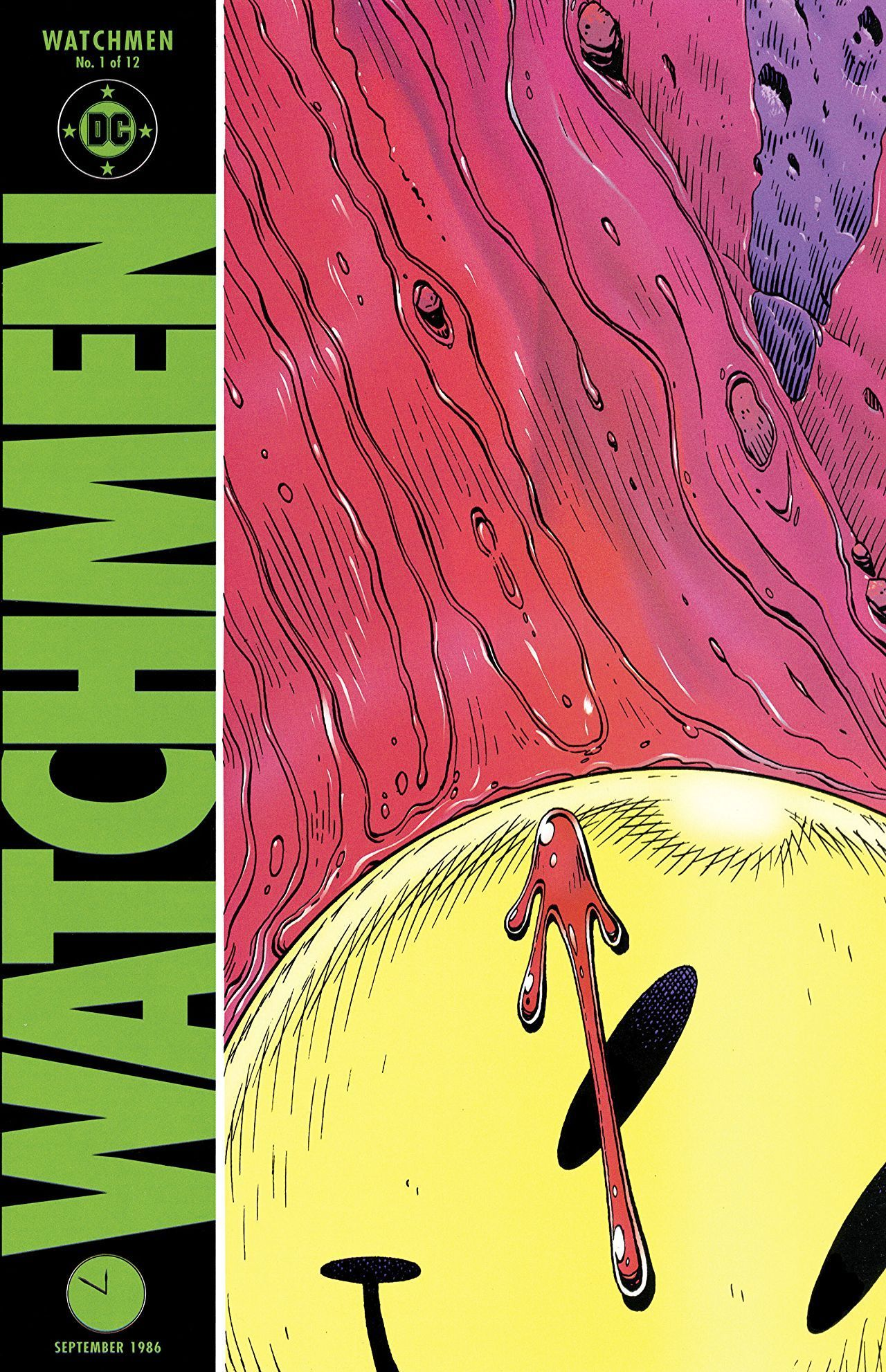 Watchmen #1 - At Midnight, All The Agents... released by DC Comics on September 1, 1986