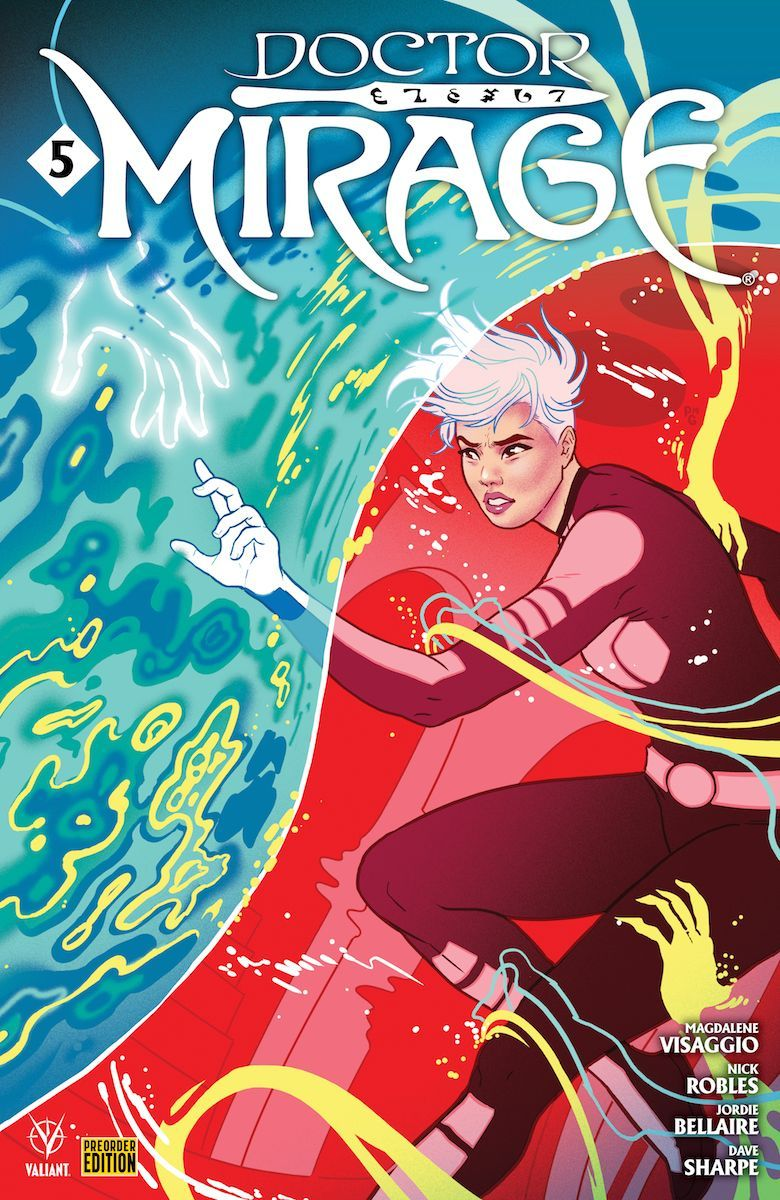 Doctor Mirage #5 (Valiant Comics) - Preview On Sale: December 11, 2019
