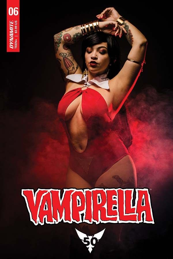 Vampirella (Vol.5) #6 - (@DynamiteComics) - Preview