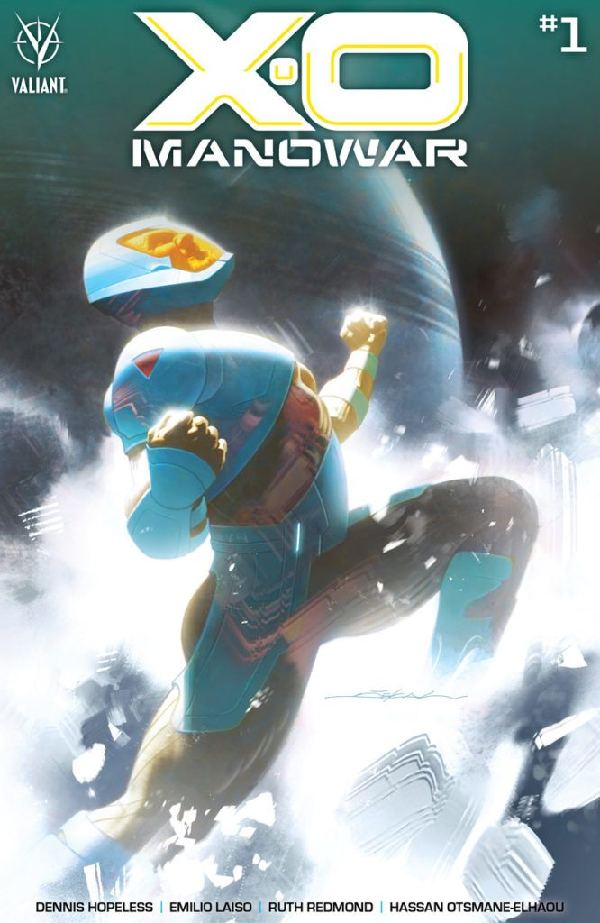 X-O MANOWAR #1 Covers by Christian Ward, Rod Reis, and More!
