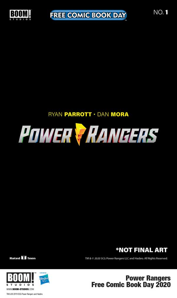 BOOM! Studios Announces POWER RANGERS Special for Free Comic Book Day 2020